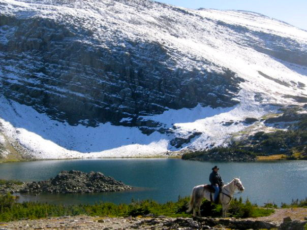Guided Trail Horseback Riding in Alberta